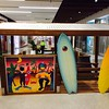 picture board with surf boards