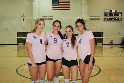2018 Senior Girls Volleyball Ceremony