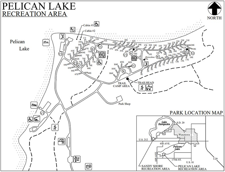 Pelican Lake Recreation Area (Campground Map)