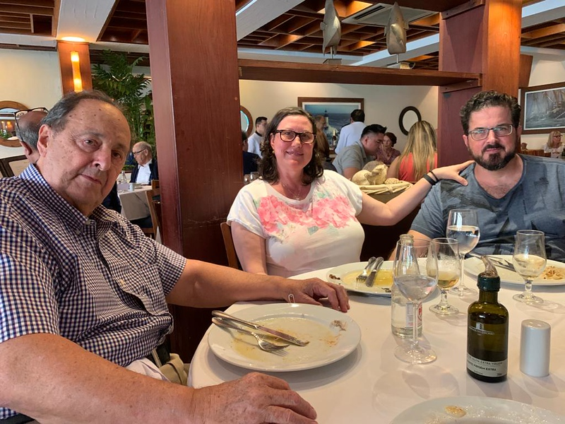 family at Ruffino's Restaurant