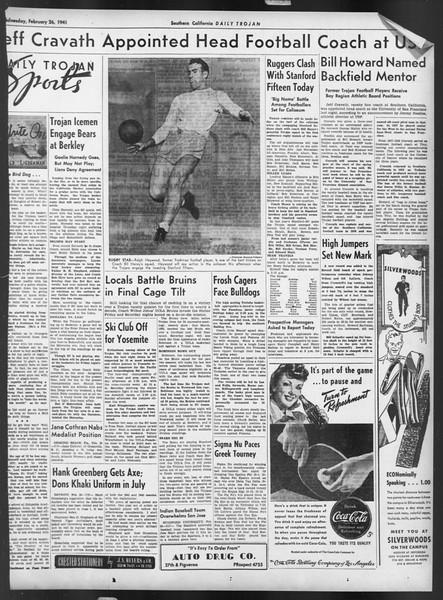Daily Trojan, Vol. 32, No. 89, February 26, 1941