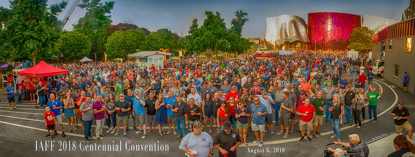 IAFF 2018 Convention @ MOPOP