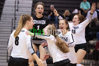 2019.11.04 Volleyball: Tuscarora @ Dominion