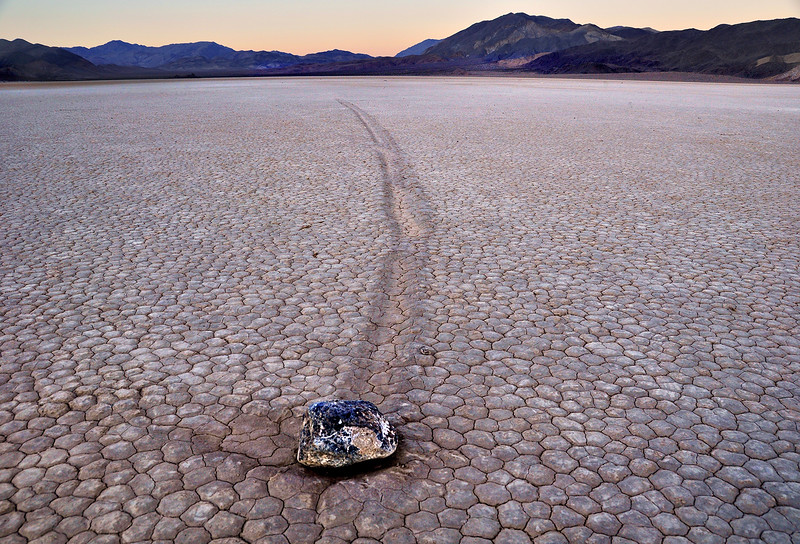 Racetrack playa @ death valley national park