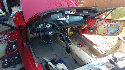 2002 Mazda Miata With Bose Double Din System Stock - USA