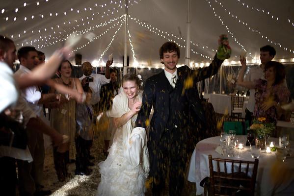 Tessa and Marshall's wedding by Photographer Brian Johnson October 2011
