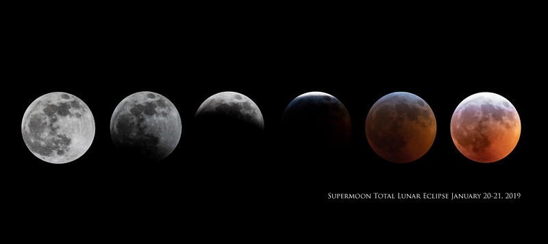 Super Blood Moon Lunar Eclipse 1/20/2019