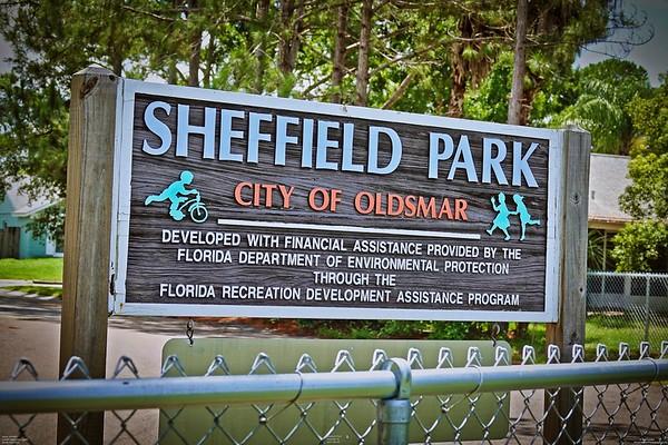 Sheffield City Park  Oldsmar, Fl.