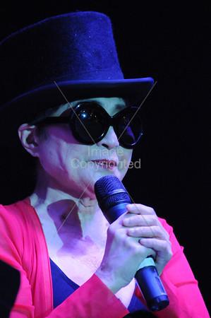 Yoko Ono, Plastic Ono Band, New Years Freakout 5. January 1, 2012. Oklahoma City, Oklahoma