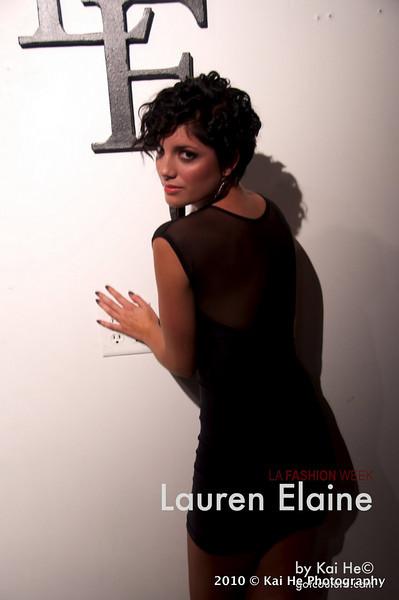 LA Fashion Week 2010: Lauren Elaine
