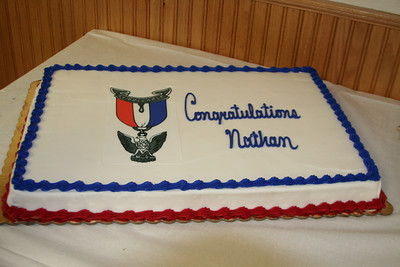Nathan's Eagle Ceremony