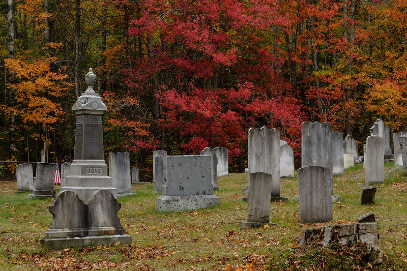 Maple Grove Cemetery, Washinton, ME.