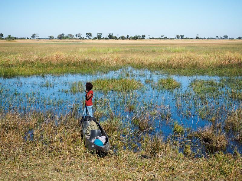 Okavango Delta in Botswana