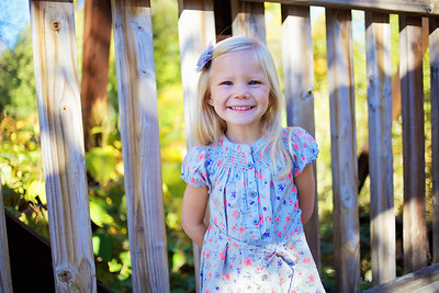 Addyson's 4 Year Pictures