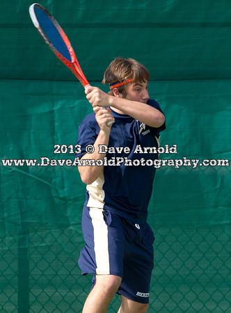 4/25/2013 - Boys Varsity Tennis - Framingham vs Needham