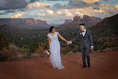 Carlos & Tierra's Sedona Wedding