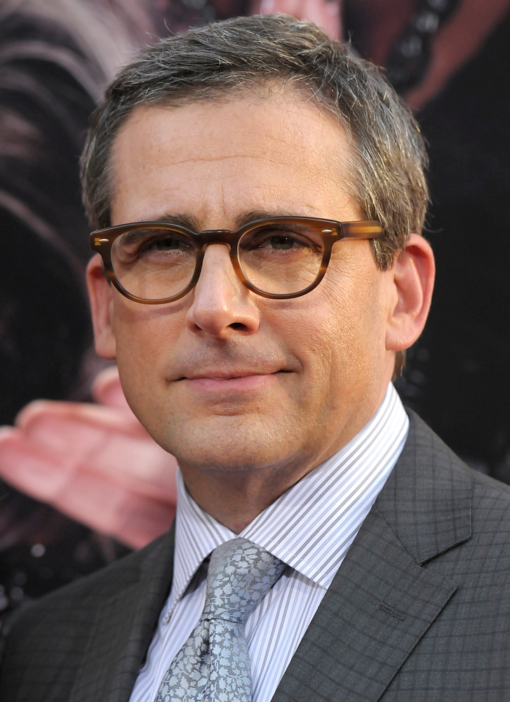 ". Actor Steve Carell arrives at the world premiere of the feature film ""The Incredible Burt Wonderstone\"" at the TCL Chinese Theatre on Monday, March 11, 2013 in Los Angeles. (Photo by Dan Steinberg/Invision/AP)"