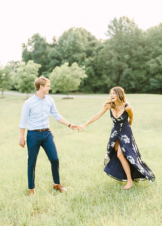 Lexi + Adam | Fort Mill Engagement