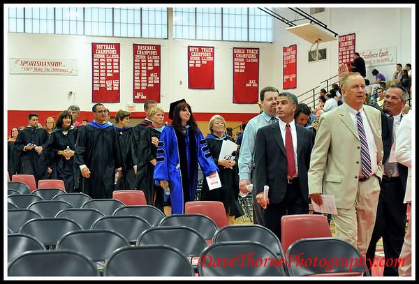 OTHS 2013 Graduation - Procession of Graduates