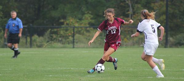 Varsity Girls Soccer vs Joel Barlow - 09/27/2011