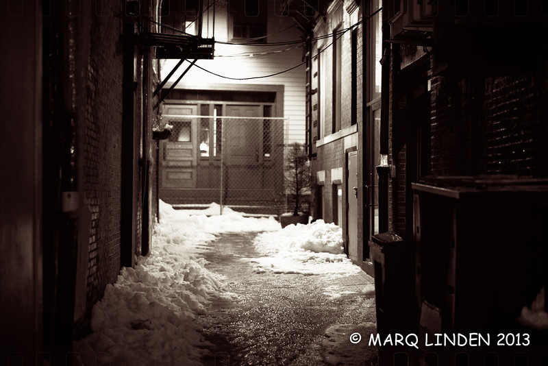 A BOSTON BACK ALLEY