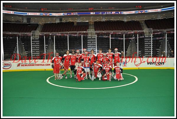 Lacrosse - OT Lax at Newark Prudential Center April, 2009