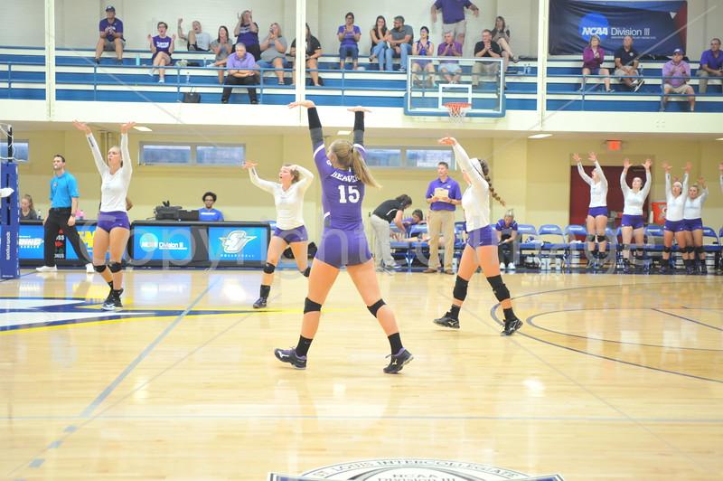 Bluffton Volleyball 091418 Spaulding Tournament