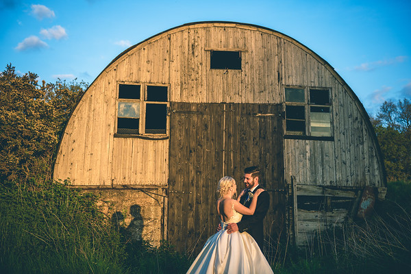 Eve & Dan - Mickleton Hills Barns Wedding Photography