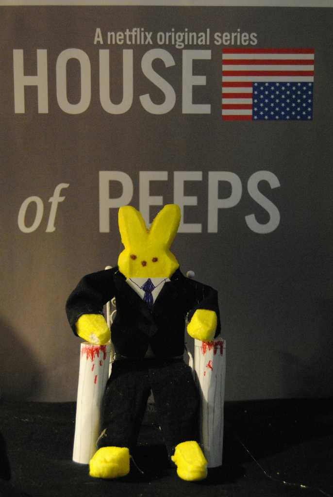 ". ""House of Peeps,\"" by Tonya Kronschnabel"