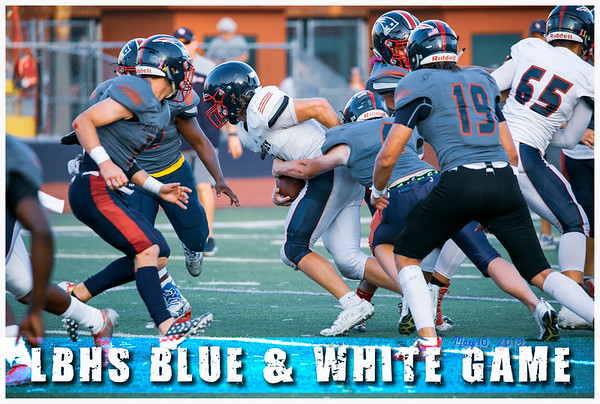 LBHS Blue and White Game - May 10, 2019