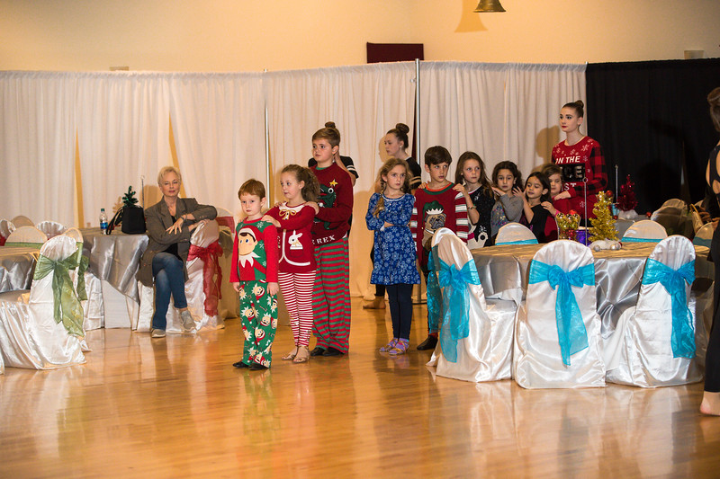 Christmas Dance Rehearsal