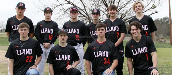 2019 Llano Yellow Jacket Baseball