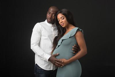 Fatu and Sannah maternity shoot