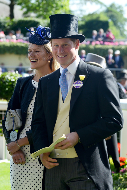 . Prince Harry attends day one of Royal Ascot at Ascot Racecourse on June 17, 2014 in Ascot, England.  (Photo by Kirstin Sinclair/Getty Images for Ascot Racecourse)