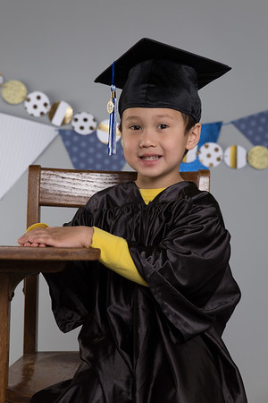 Sam's 4yr Preschool Graduation Pics 2017