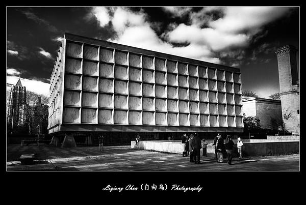 10-31-2016 非常有震撼力的耶鲁大学建筑