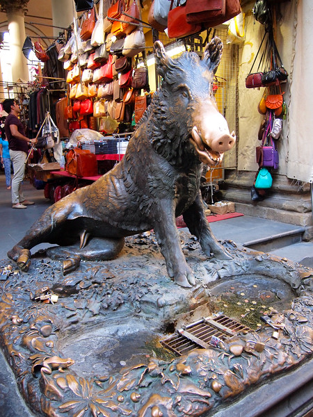 Lucky boar in Florence