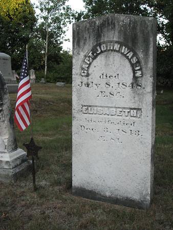 Capt. John Wason Grave