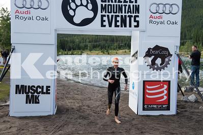 Open Water Swim Finish Pics