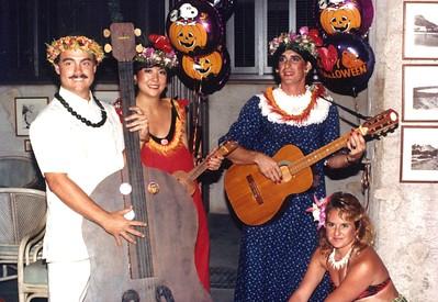 1987 Halloween Party 10-31-1987