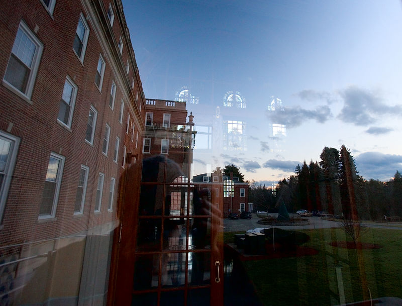Reflections in the Campion Center