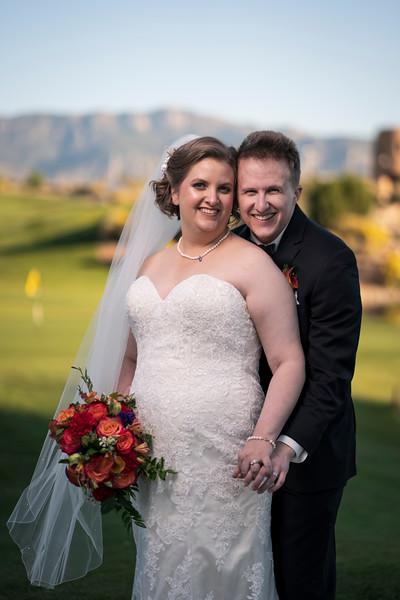 Sandia Hotel Albuquerque New Mexico October Wedding C&C
