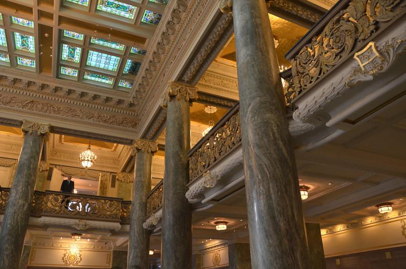 City Creek Mall, Fountain, Temple square Salt Lake City