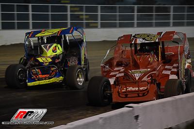 Oswego Speedwy - Super DIRT Week - 10/6/17 - Matt Sullivan