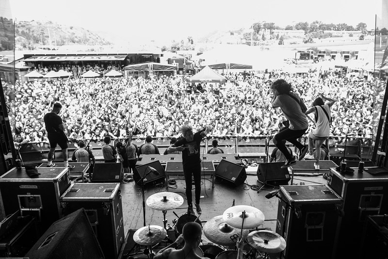The Word Alive in San Diego, CA on Vans Warped Tour 2016