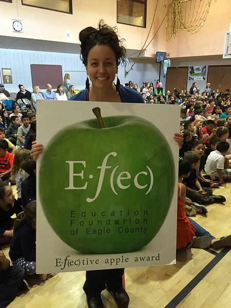 May 2016 Winner: Ash Ikoniak, Art Teacher, Edwards Elementary School