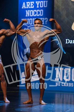 Bodybuilding Senior -80 kg final