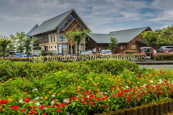 JAPAN, Gifu Prefecture, Yaotsu. Sugihara Chiune Memorial Hall and the Hill of Humanity (8. 2017)