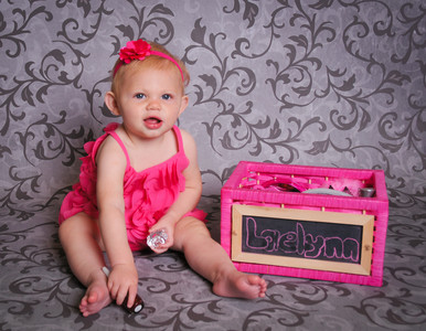 Laelynn is One!! Happy Birthday!