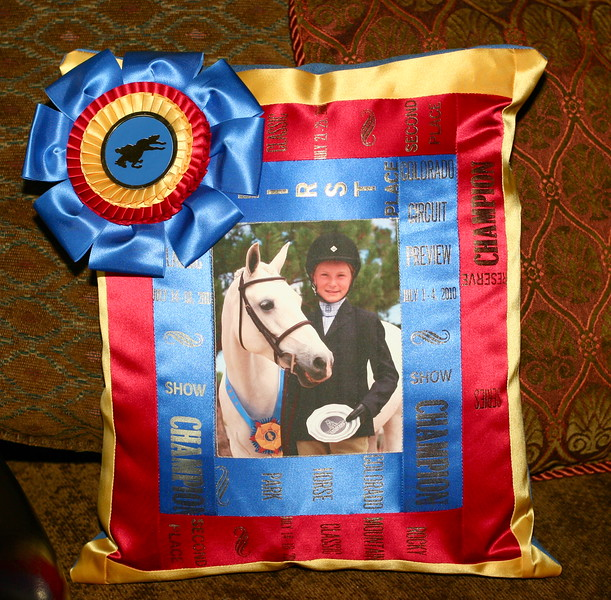 Show Ribbon Pillows & Quilts